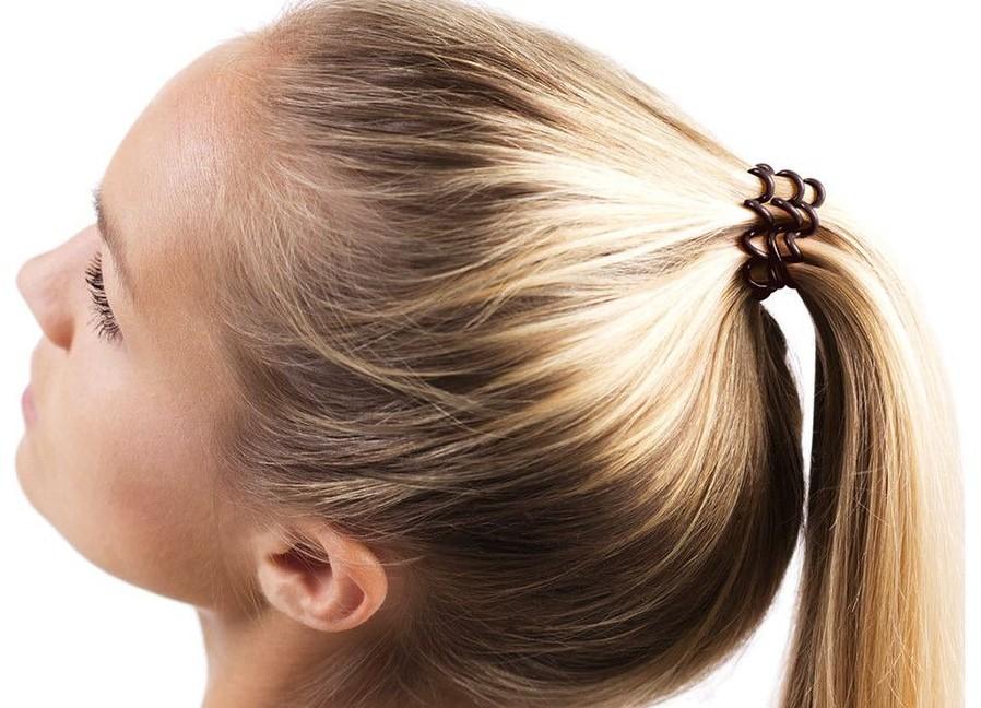 Резинки для волос из волос фото