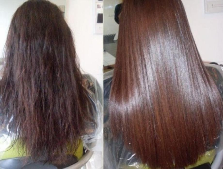 Ламинирование волос бразильское
