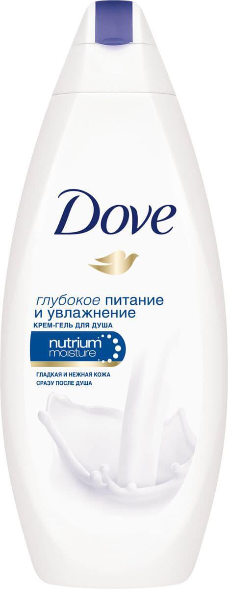 Dove Крем-Гель Для Душа Глубокое Питание И Увлажнение