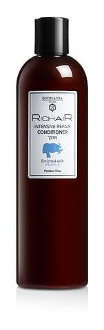 Richair Активное Восстановление Кондиционер С Витамином ЕКондиционеры<br>Кондиционер с интенсивным восстанавливающим действием обеспечивает ежедневное увлажнение  придавая волосам упругость и эластичность  делая их более послушными  Кондиционер облегчает расчесывание волос и увеличивает их плотность  придает термоустойчивость при укладке  Активные ингредиенты  витамин е обеспечивает антиоксидантное действие  ваши волосы будут защищены от свободных радикалов  суровых погодных условий и повреждений при химическом воздействии  Витамины а и е в составе продукта повышают уровень омега-кислот в волосе  Под его воздействием волосы становятся эластичными и послушными  Питательные масла в комплексе с восстанавливающими минералами мертвого моря придают волосам здоровый вид  Благодаря освежающим сокам листьев розмарина и алоэ вера кондиционер активное восстановление   это лучшее средство для укрепления волос<br>Type: 400 мл;
