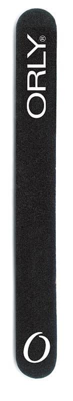 Orly Пилка Для Крепких Натуральных Ногтей Черная С Абразивностью 180