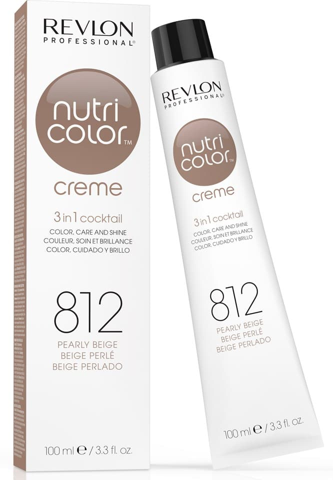 Nutri Color Creme Краска Для ВолосКраски для волос<br>Крем-краска Nutri Color Creme для окрашивания волос обладает сразу 3-мя действиями  обеспечивает равномерное стойкое окрашивание  питает волосы во время процедуры и придает волосам интенсивный блеск  Отличный результат достигается всего за 3 минуты  Созраняет целсть структуры волос  т к  не содержит аммиака и перекиси водорода  Имеет приятный цветочно-фруктовый аромат<br>Type: № 812 100 мл;