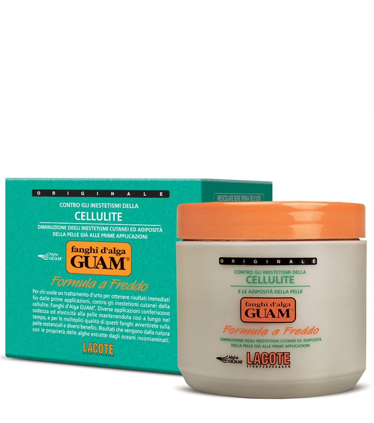 Купить Fanghi D'Alga Маска Антицеллюлитная С Охлаждающим Эффектом 500 Г, Guam