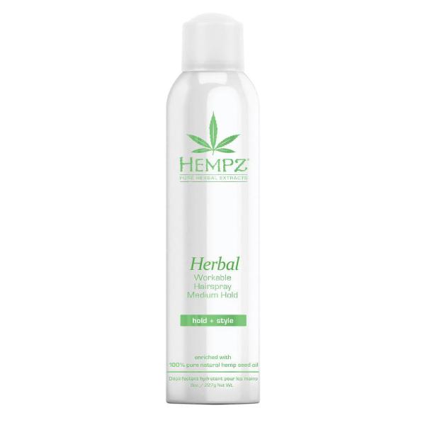 Herbal Workable Hairspray Лак Растительный Для Волос Средней Фиксации Здоровые Волосы 227 Мл