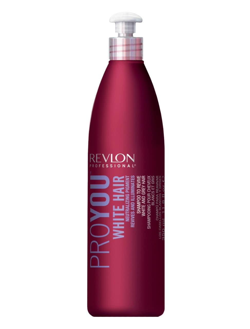 Revlon Professional Proyou White Hair Шампунь Для Блондированных Волос
