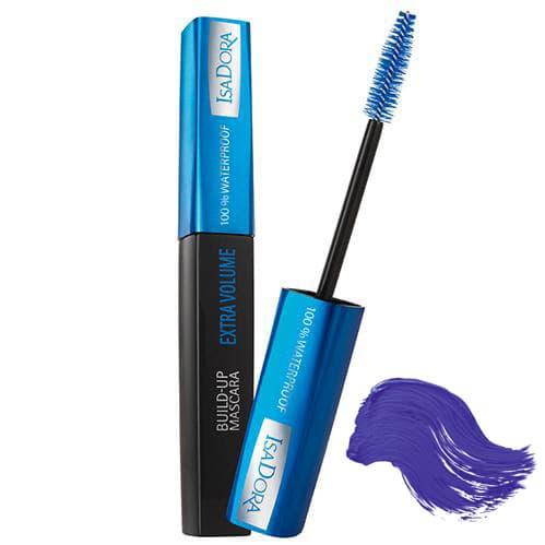 Isadora Build-Up Mascara Extra Volume 100 Waterproof Тушь Для Ресниц Супер Экстра Объем Водостойкая