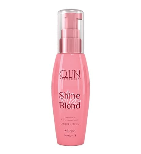 Ollin Professional Shine Blond Масло Омега-3