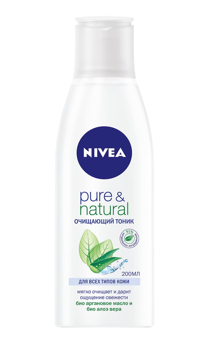 Nivea Purenatural Очищающий Тоник Для Кожи Лица