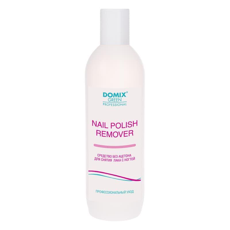 Купить Nail Polish Remover Средство Для Снятия Лака Без Ацетона 500 Мл, Domix Green Professional