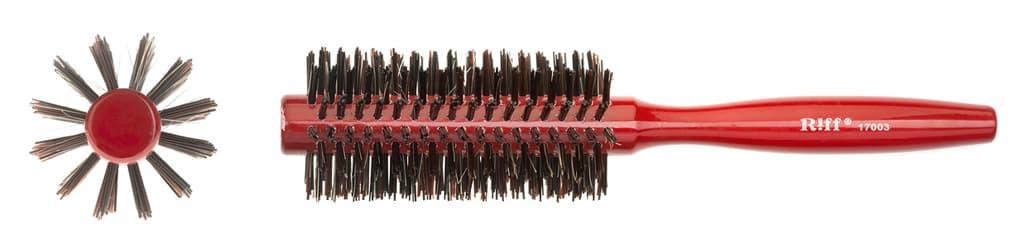 Брашинг Деревянный Красный Со Смешанной Щетиной D19 МмДля волос<br>Брашинг деревянный  красный  со смешанной щетиной  диаметр  19 мм<br>