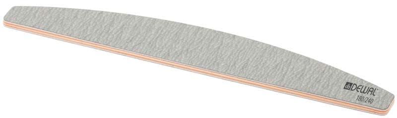 Пилка Улыбка Серая 180240 18 См 9101317KИнструменты для ногтей<br>Пилка используется для регулирования длины и формы натурального ногтя  Имеет две рабочие поверхности 180 240  18 см<br>