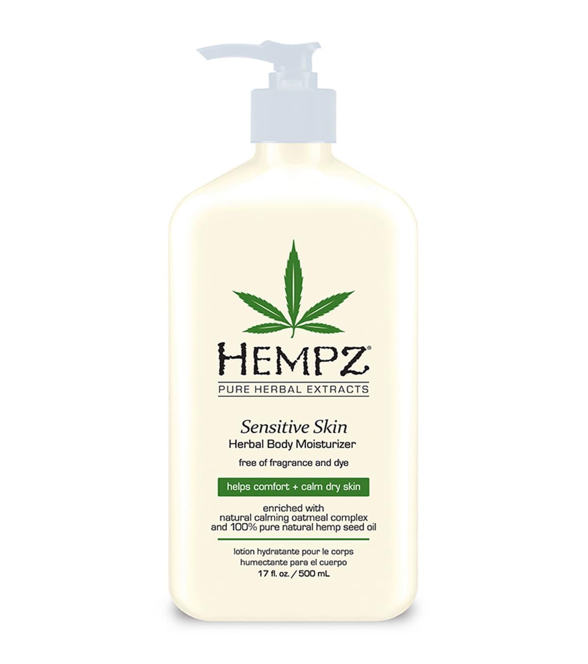 Hempz Sensitive Skin Молочко Для Тела Увлажняющее - Чувствительная Кожа
