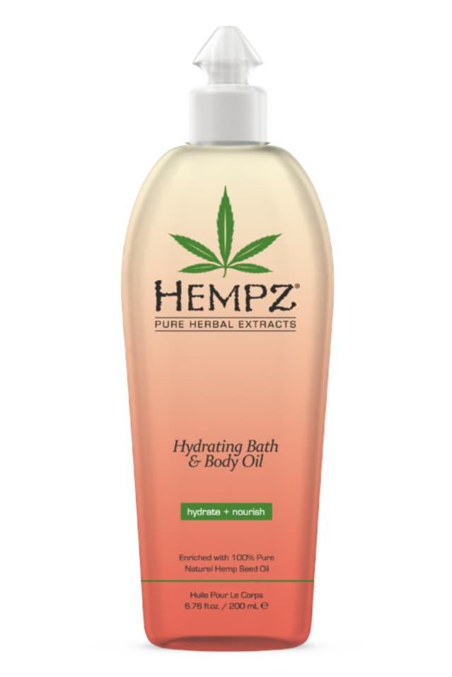 Купить Hydrating Bath Body Oil Масло Увлажняющее Для Ванны И Тела, Hempz