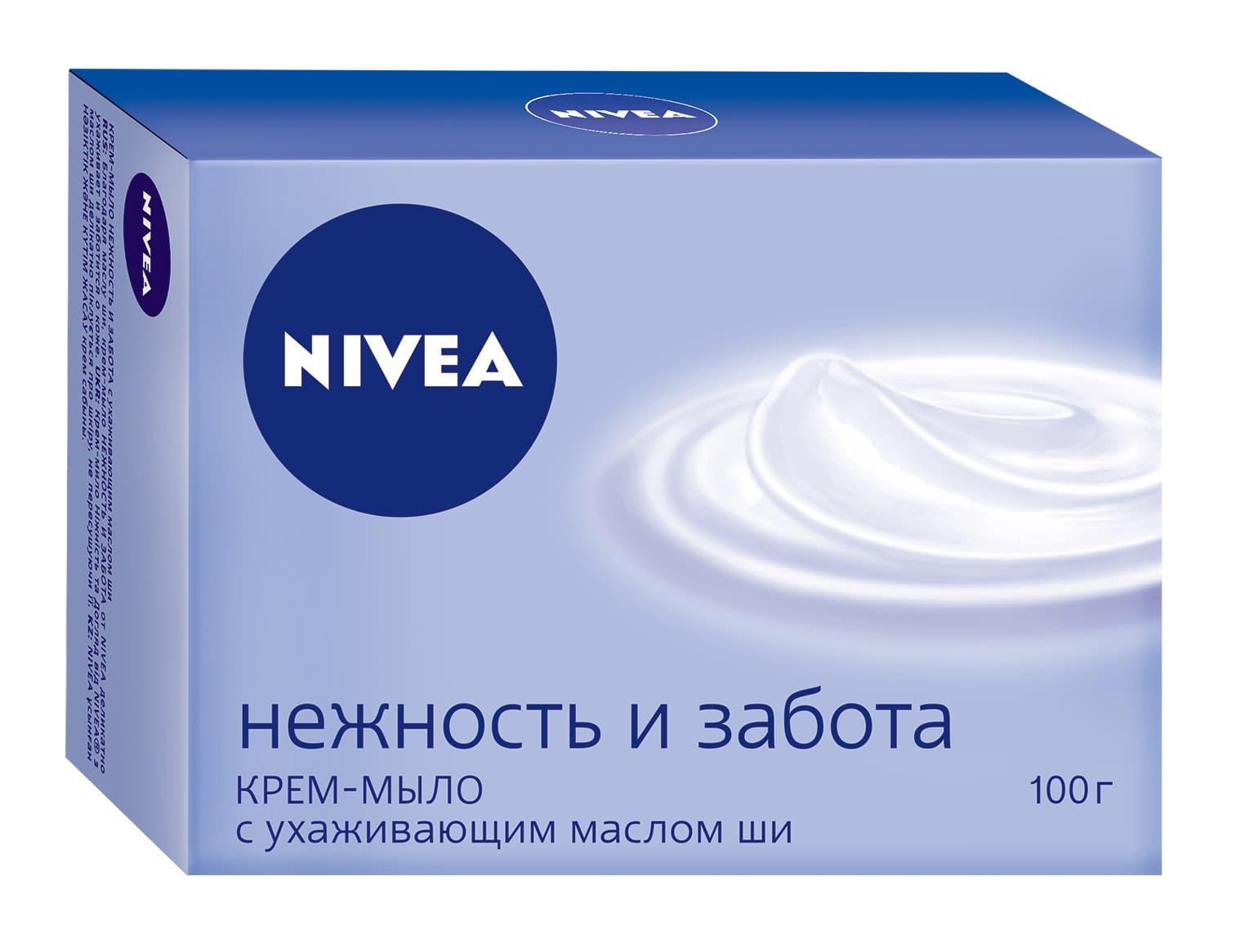 Nivea Крем-Мыло Нежность И Забота