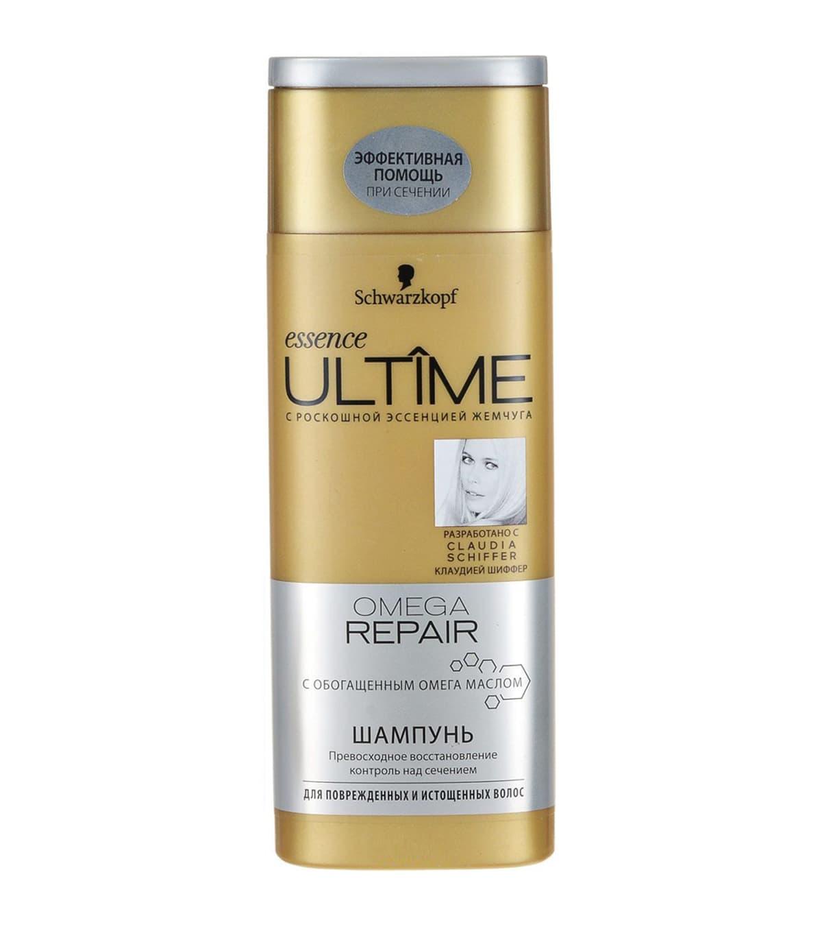 Essence Ultime Omega Repair Шампунь Для Поврежденных И Истощенных ВолосШампуни<br>Шампунь для поврежденных и истощенных волос Essence ULTIME OMEGA REPAIR от SCHWARZKOPF  Для поврежденных и истощенных волос  Превосходное восстановление и контроль над сечением c обогащенным омега маслом<br>Type: 250 мл;