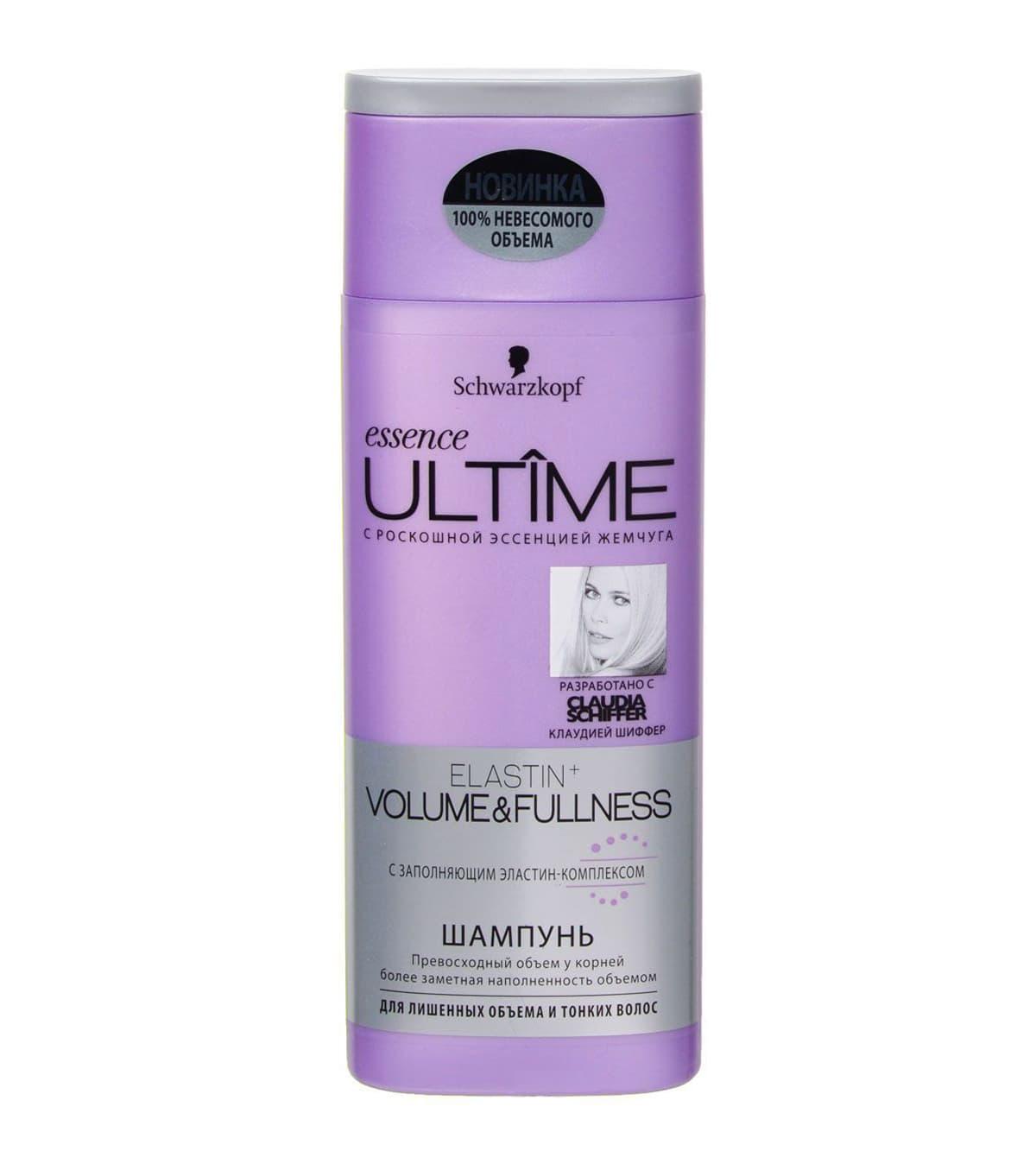 Schwarzkopf Essence Ultime Biotin Volume Шампунь Для Лишенных Объема И Тонких Волос