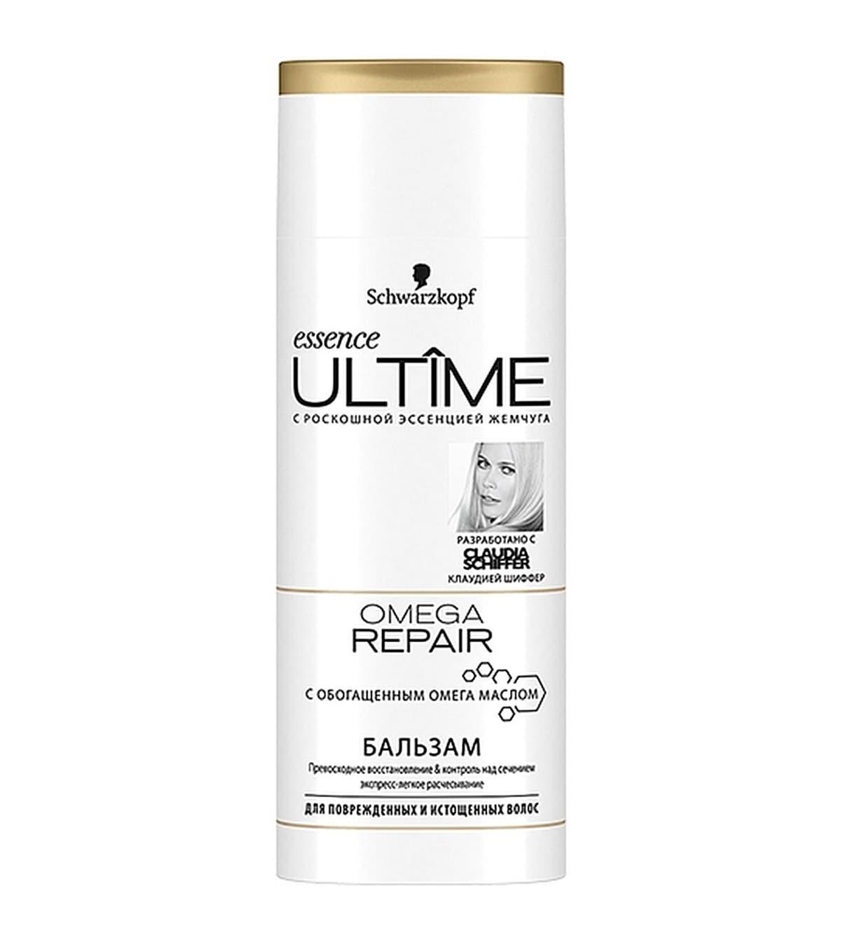 Schwarzkopf Essence Ultime Omega Repair Бальзам Для Поврежденных И Истощенных Волос