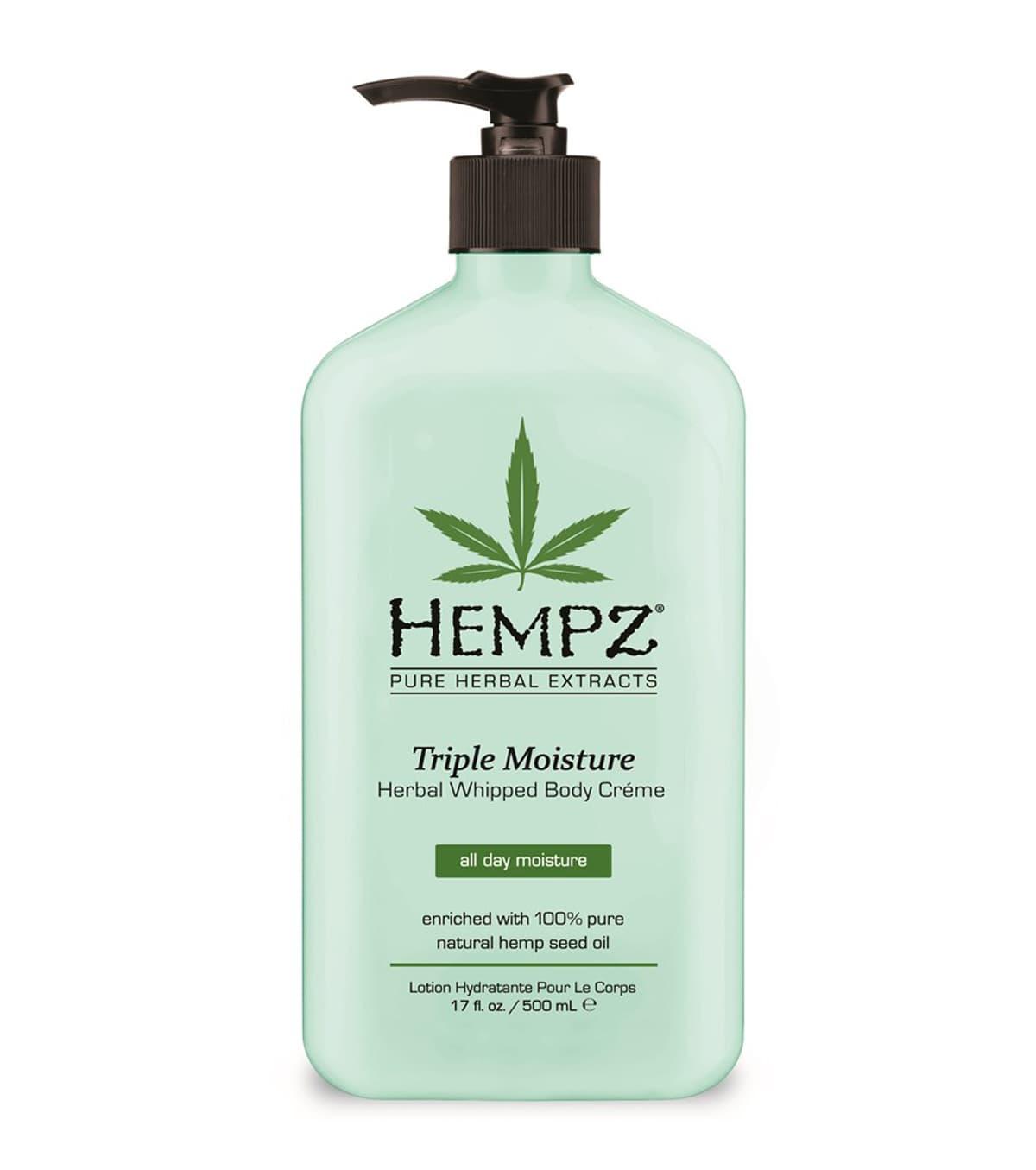 Hempz Triple Moisturizer Herbal Whipped Body Creme Молочко Для Тела - Тройное Увлажнение