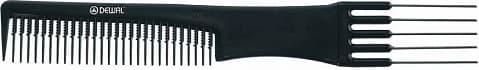 Расческа-Вилка Металлическая 19 См Co-6502Для волос<br>Металлические зубцы  для начеса  комбинированная  19 см<br>