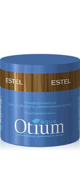 Otium Aqua Комфорт-Маска Для Глубокого Увлажнения ВолосМаски<br>Комплекс активных веществ превосходно увлажняет волосы  придает им эластичность и гладкость  Глубоко восстанавливает структуру волос  Результат  Идеально ухоженные блестящие волосы<br>Type: 300 мл;