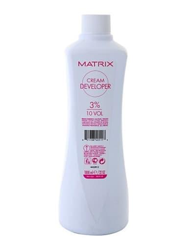 Cream Developer Крем-Оксидант 10 Vol - 3Краски для волос<br>Крем-оксидант для крем-краски окислением обеспечивает нанесение без капель и подтеков  Насыщенность оттенка зависит от процента окислителя и смешиваемых пропорций<br>Type: 1000 мл;