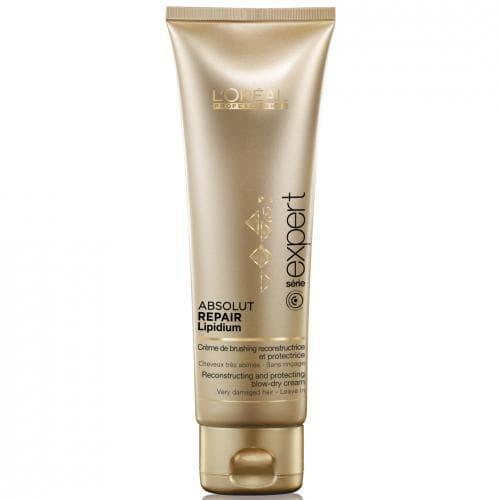 Absolut Repair Lipidum Термозащитный КремТермозащита<br>Абсолют Липидиум Термозащитный крем разработан специально для укладки очень поврежденных волос  Облегчает укладку термо-инструментами и обеспечивает дополнительную защиту и восстановление<br>Type: 125 мл;