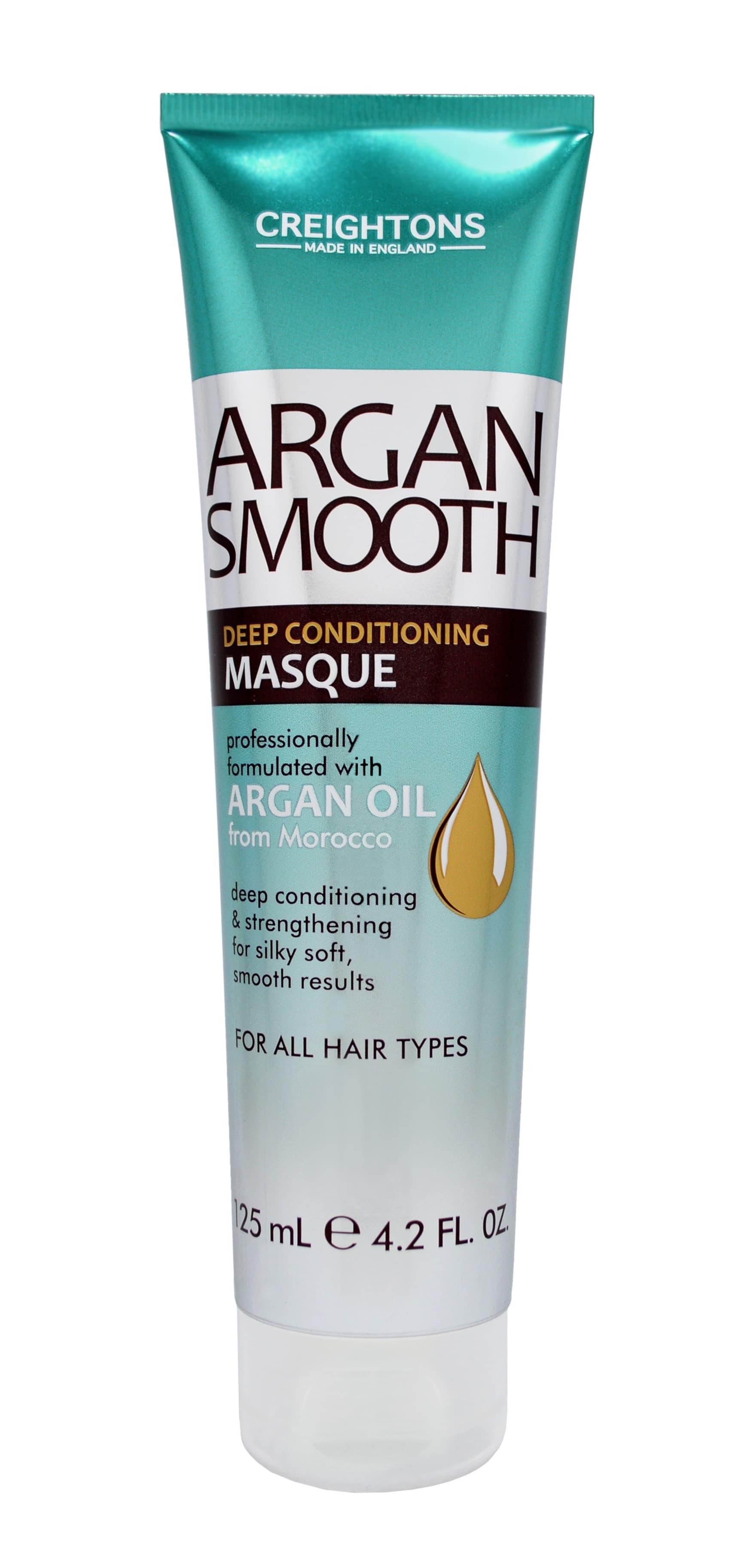 Argan Smooth Маска Для Глубокого Увлажнения Волос С Аргановым Маслом 125 Мл CREIGHTONS