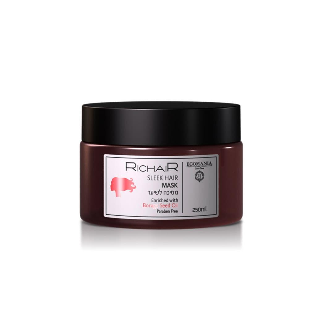 Купить Richair Sleek Hair Маска Для Гладкости И Блеска Волос, Egomania