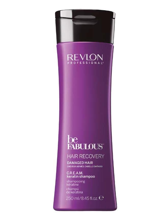 Revlon Professional Be Fabulous Очищающий Шампунь С Кератином