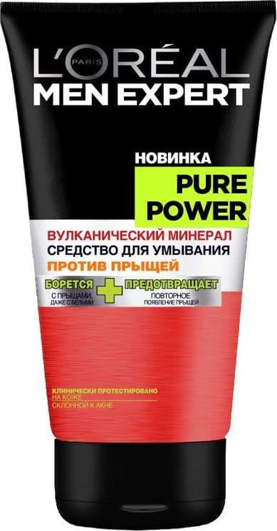 L Oreal Men Expert Pure Power Гель Для Умывания Вулкан