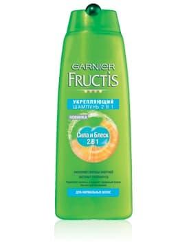 Купить со скидкой Fructis Шампунь И Бальзам-Ополаскиватель 2В1 Сила И Блеск Для Нормальных Волос