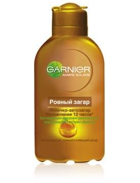 Garnier Ambre Solaire Ровный Загар Молочко Увлажнение 12 Часов