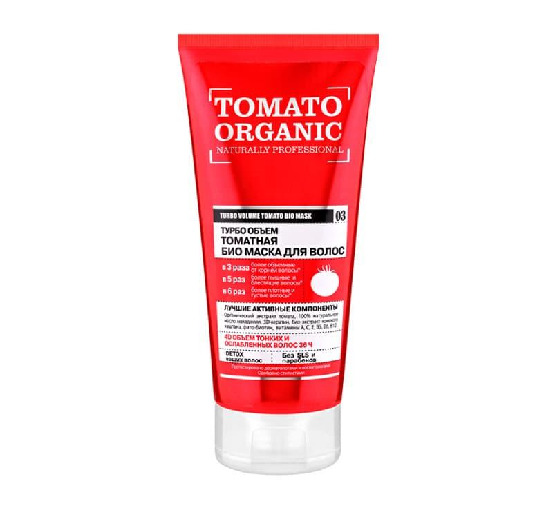 Organic Shop Tomato Organic Турбо Объем Томатная Био Маска Для Волос