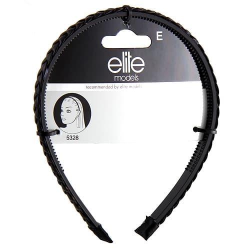 Ободок Для Волос Косичка Черный 5328Для волос<br>Ободок для волос - универсальный аксессуар  который можно носить на коротких или длинных волосах  Он может быть использован в качестве модного аксессуара или для поддержки волос<br>