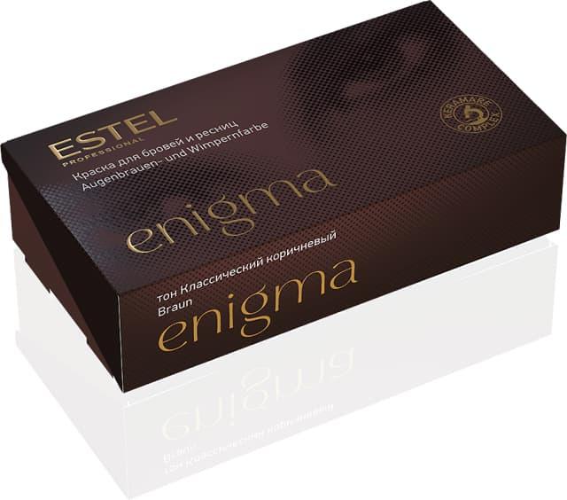 Купить со скидкой Enigma Краска Для Бровей И Ресниц