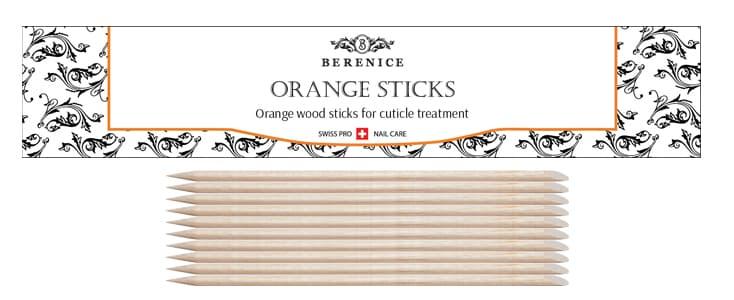 Апельсиновая Палочка 13 СмУход за ногтями<br>Палочки изготовлены из высококачественного апельсинового дерева  которое обладает антисептическими свойствами  Апельсиновые палочки BERENICE имеют удлинённую форму  которая очень удобна для работы  Это идеальный инструмент для обработки кутикулы  С помощью апельсиновой палочки также можно очистить внутреннюю поверхность ногтевой пластины и нанести на ноготь мелкие элементы для дизайна  наклейки  стразы и др   Рекомендуется для домашнего и профессионального использования  В комплект входит 10 палочек<br>Type: 10 шт в упаковке;