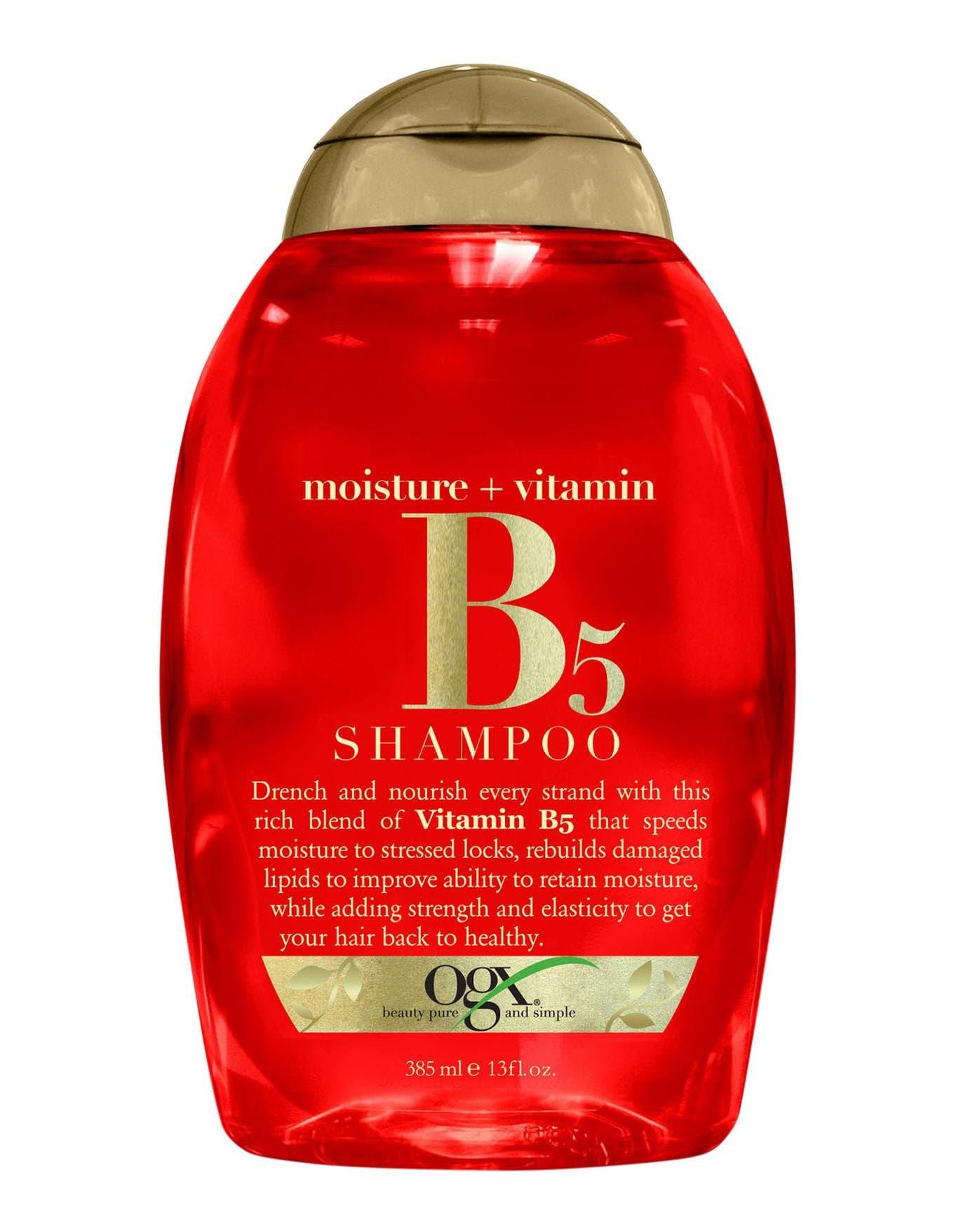 Moisture  Vitamin B5 Увлажняющий Шампунь С Витамином В5Кондиционеры<br>Увлажняющий шампунь с витамином В5 Moisture   Vitamin B5 Shampoo помогает удерживать влагу внутри волоса  восстанавливает поврежденные липиды  придает волосам прочность и эластичность  чтобы волосы выглядели здоровыми и сильными<br>Type: 385 мл;