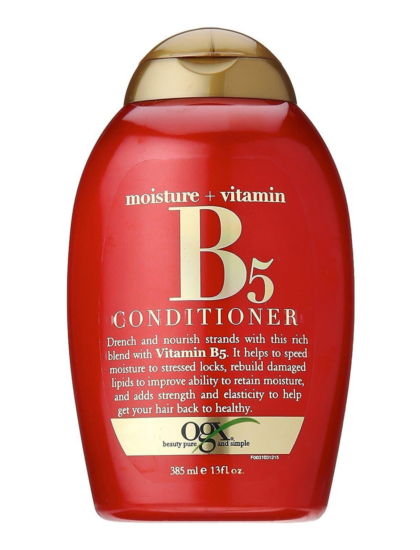 Moisture  Vitamin B5 Увлажняющий Кондиционер С Витамином В5Кондиционеры<br>Увлажняющий кондиционер с витамином В5 Moisture   Vitamin B5 Conditioner питает и увлажняет волосы  делает их мягкими и блестящими  помогает удерживать влагу внутри волоса  восстанавливает поврежденные липиды  придают волосам прочность и эластичность  чтобы волосы выглядели здоровыми и сильными<br>Type: 385 мл;