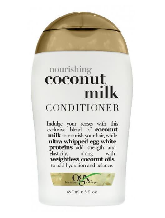 Nourishing Coconut Milk Питательный Кондиционер С Кокосовым МолокомКондиционеры<br>Питательный кондиционер с кокосовым молоком Nourishing Coconut Milk Conditioner питает и увлажняет волосы  придавая им гладкость и блеск  кокосовое масло  входящее в состав продукта наполняет волосы влагой от корней до самых кончиков<br>Type: 385 мл;