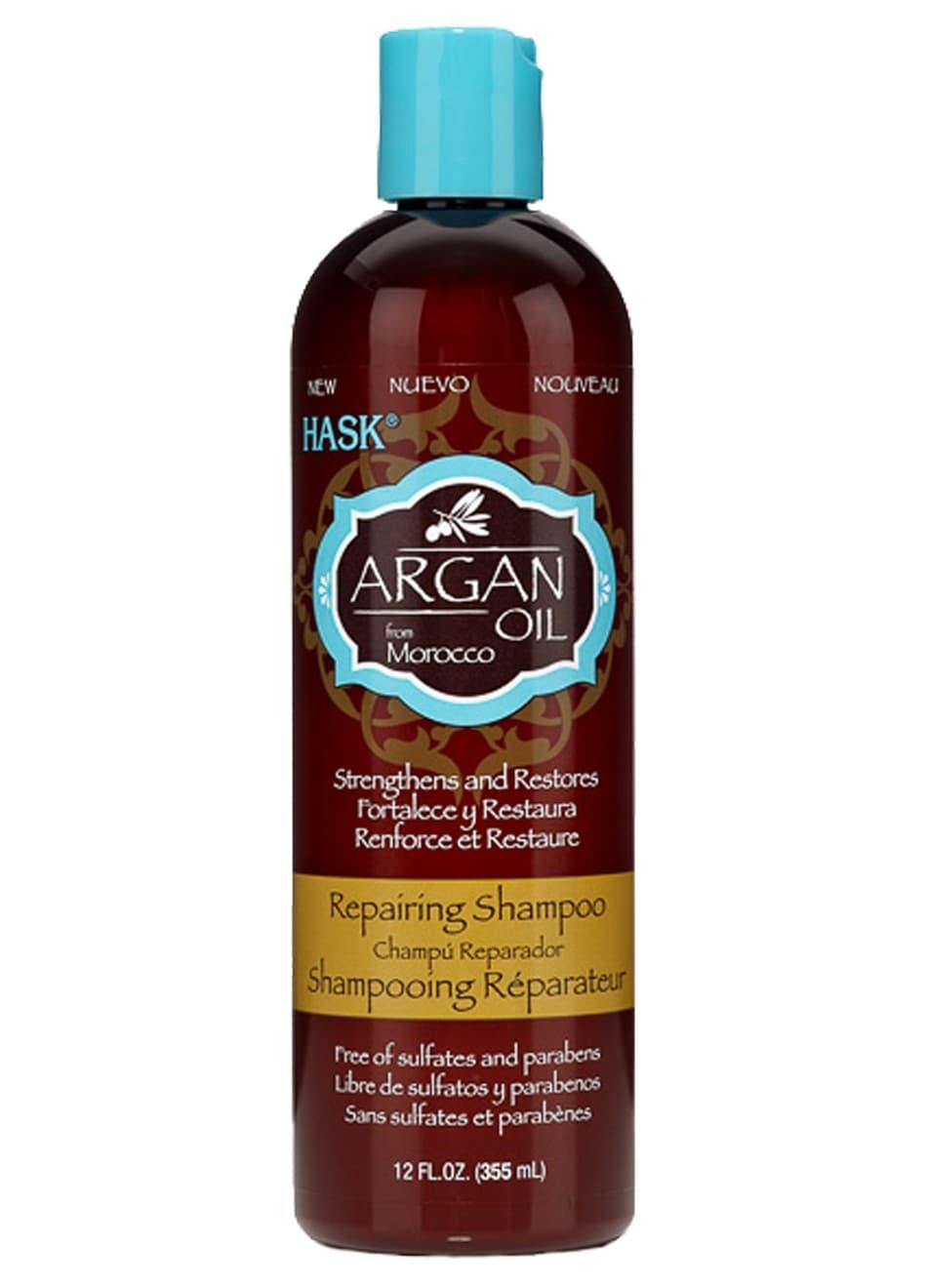 Hask Argan Oil Восстанавливающий Шампунь Для Волос С Аргановым Маслом