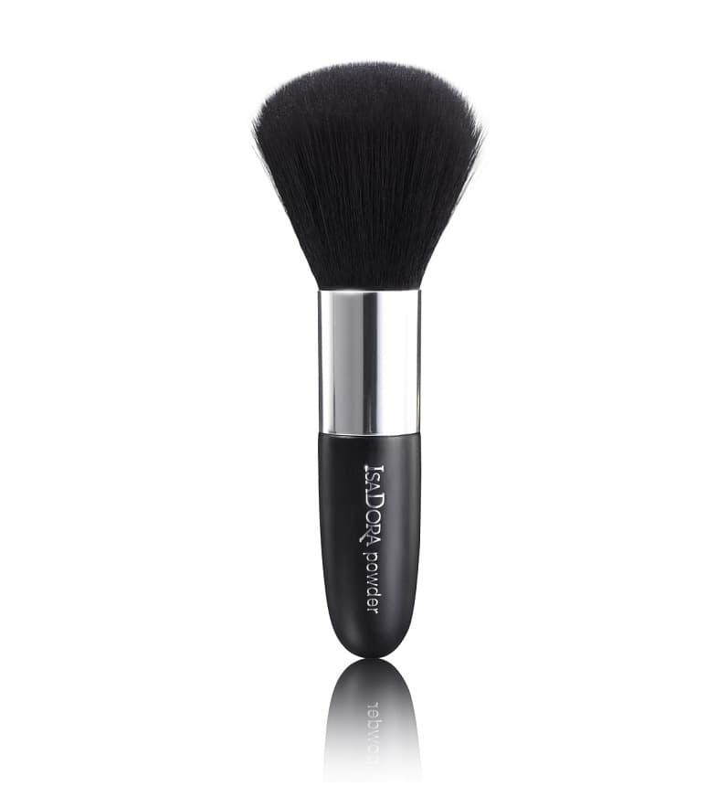 Powder Brush Кисть Для ПудрыКисти для макияжа<br>Компактная кисть для пудры  Высококачественный синтетический ворс - супер мягкое и комфортное нанесение любых пудровых текстур  пудры  хайлайтера  румян   Легко растушовывает  Легко взять с собой благодаря укороченной ручке  Гипоаллергенный форс идеален для чувствительной кожи<br>