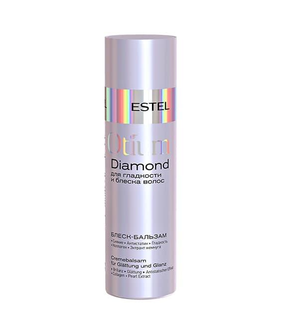 Otium Diamond Блеск-Бальзам Для Гладкости И Блеска ВолосБальзамы<br>Разглаживает поверхность волос до гладкости шёлка  Укрепляет структуру  обеспечивает кристальное сияние и защиту от статики  Дисциплинирует непослушные волосы  не утяжеляя их  Активные компоненты  коллаген  эктракт жемчуга  витамин Е  Результат  сияние  антистатик  гладкость<br>Type: 200 мл;