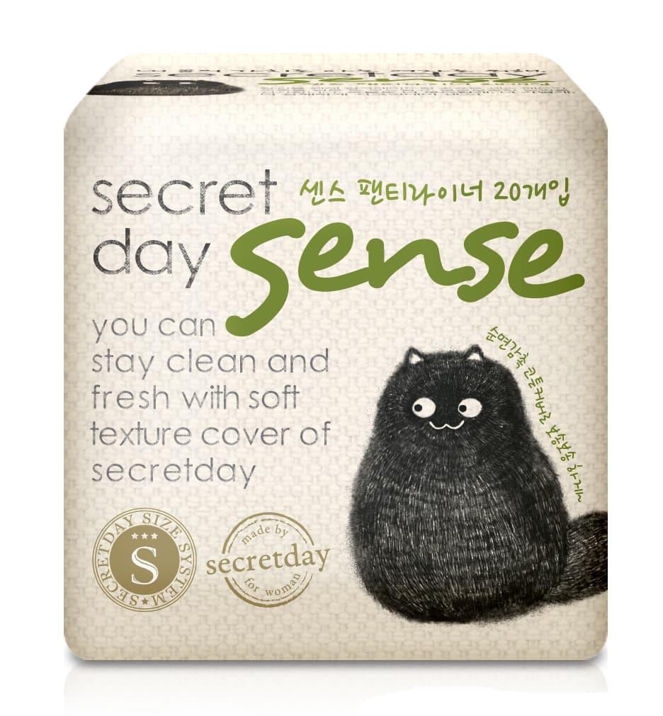 Secret Day Ежедневные Ультратонкие Дышащие Органические Прокладки Sense 155 См