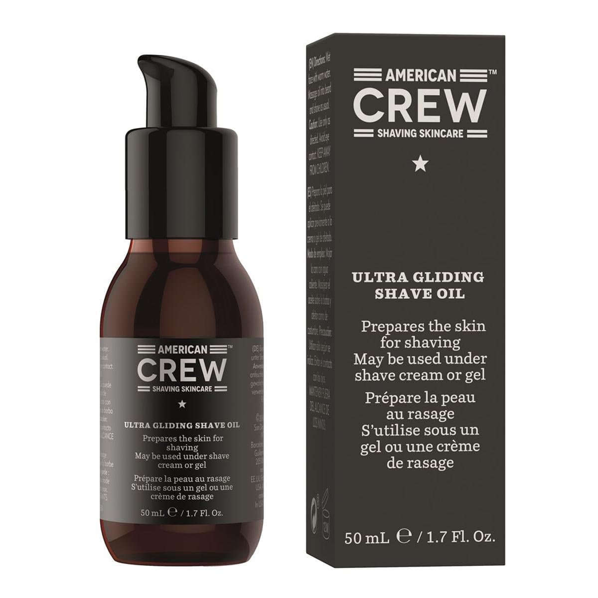 American Crew Shaving Skincare Ultra Gliding Shave Oil Масло Для Бритья