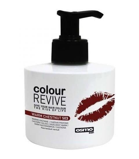 Colour Revive Ламинирующий Крем-КератинУход за волосами<br>Подарите окрашенным волосам силу  блеск и стойкость цвета  Colour Revive поможет сохранить цвет окрашенных волос в период между посещениями салона и покраской волос  Ламинирующий крем содержит масло авокадо  которое способствует усилению цвета краски  мгновенно восстанавливая оттенок и возвращая силу и блеск окрашенным волосам  С применением средства цвет окрашенных волос дольше будет оставаться ярким и насыщенным<br>Type: Каштановый тёплый 225 мл;