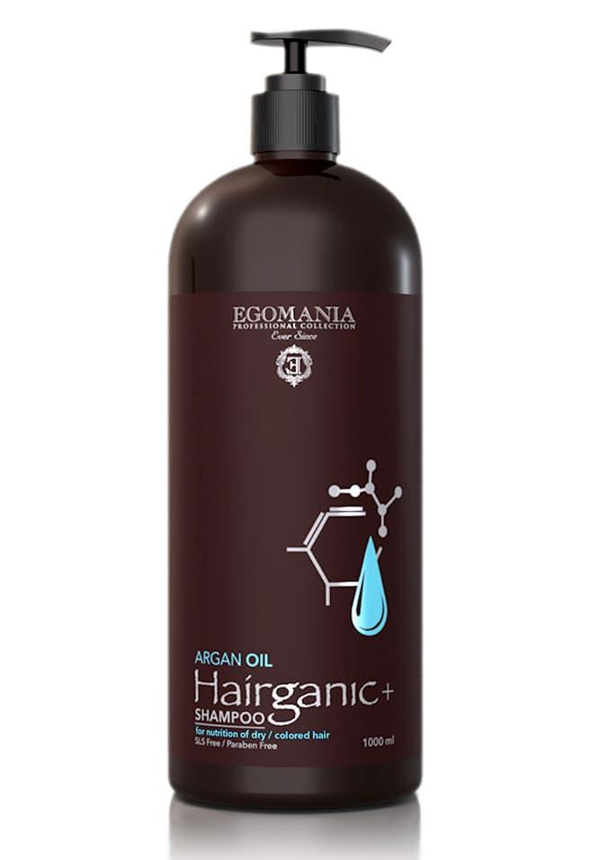 Купить Hairganic Argan Oil Шампунь С Маслом Аргана Для Питания Сухих Окрашенных Волос 1000 Мл, Egomania