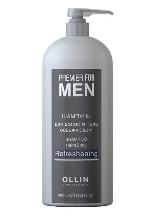 Ollin Professional Premier For Men Шампунь Для Волос И Тела Освежающий
