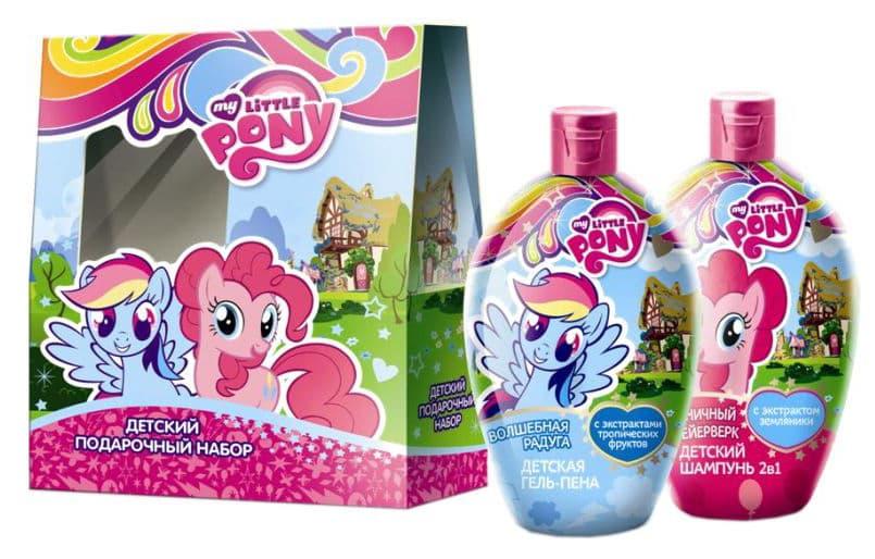 My Little Pony Подарочный Набор Шампунь 2В1 300Мл  Гель-Пена 300Мл