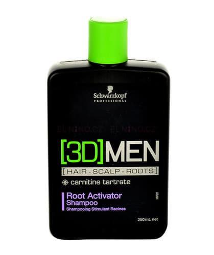 Schwarzkopf Professional Bonacure Root Activator Shampoo [3D]Men Шампунь Активизирующий Рост Волос
