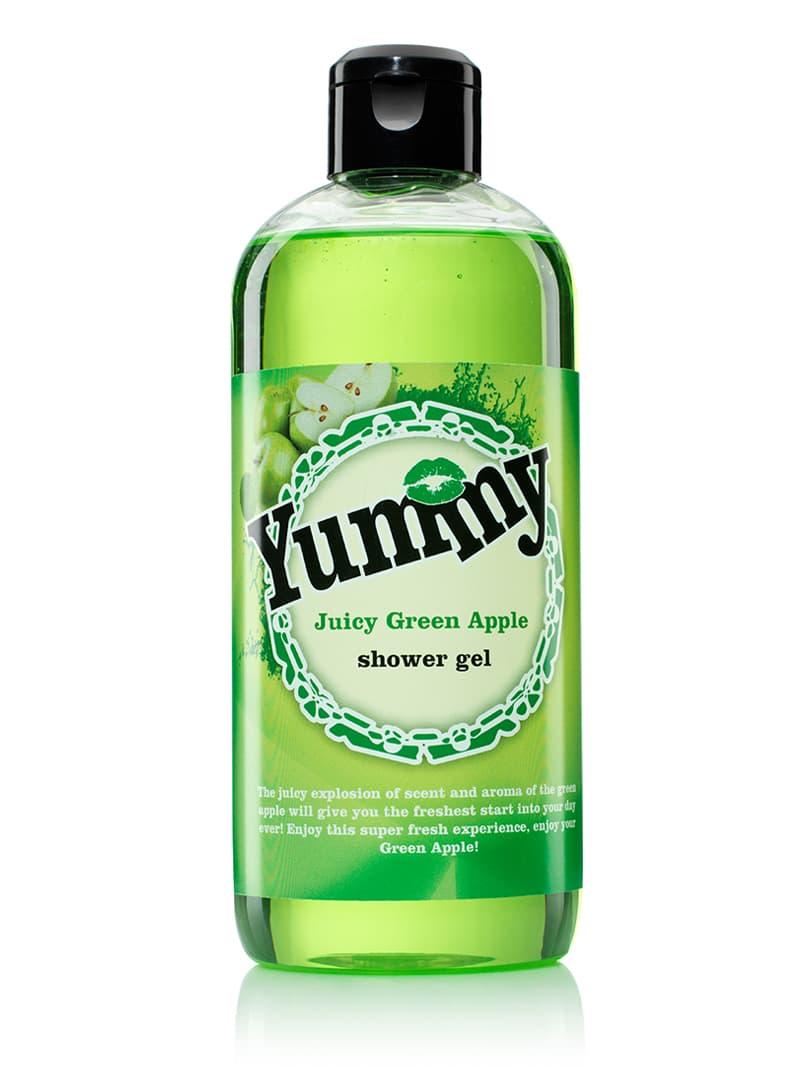 Купить Juicy Green Apple Гель Для Душа С Ароматом Зеленого Яблока, Yummy